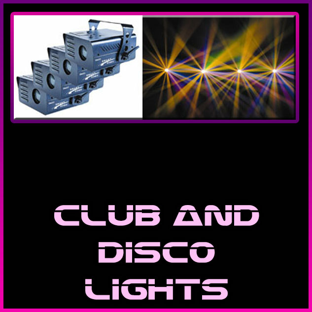 club and disco lights