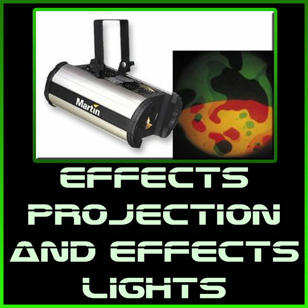 effects projection and effects lights