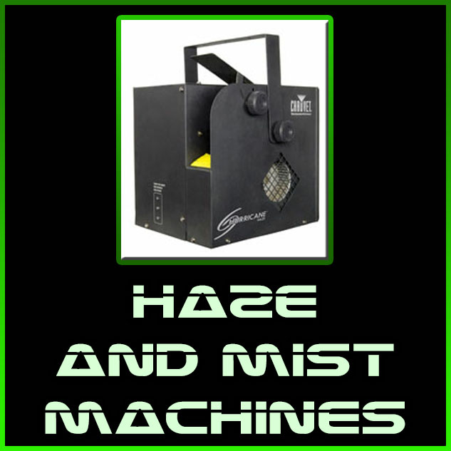 haze and mist machines
