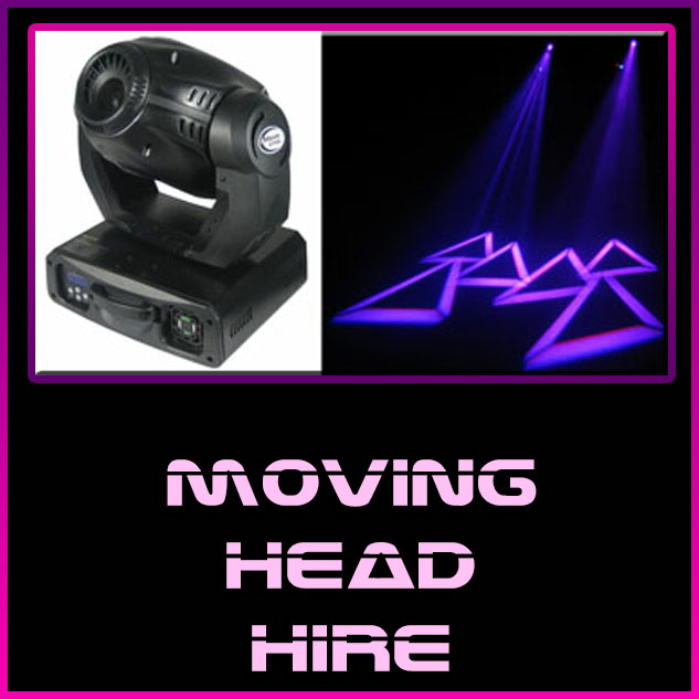 moving head hire