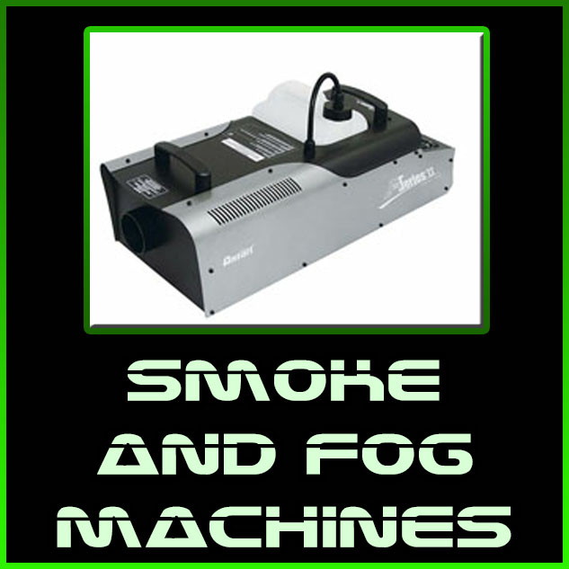 smoke and fog machines